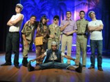 The men of South Pacific and Kelly